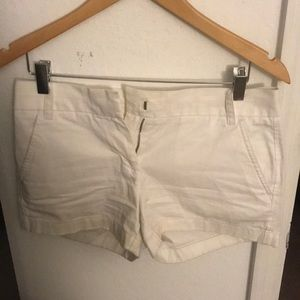 J. Crew Chino Shorts - White